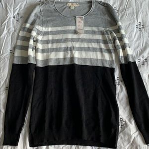 Drygoods Color Block Sweater XS